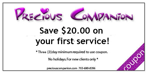 Save $20.00 on your first service!